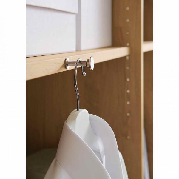 Wöstmann WSM 1600 Ausziehbarer Kleiderhaken für Kleiderschrank