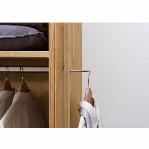 Wöstmann WSM 1600 Ausziehbare Kleiderstange für Kleiderschrank