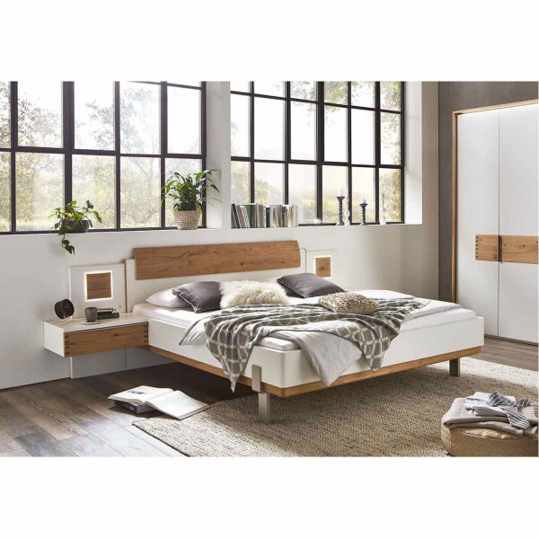 Wöstmann WSL 6000 VZ Bett mit Holz-Formteil