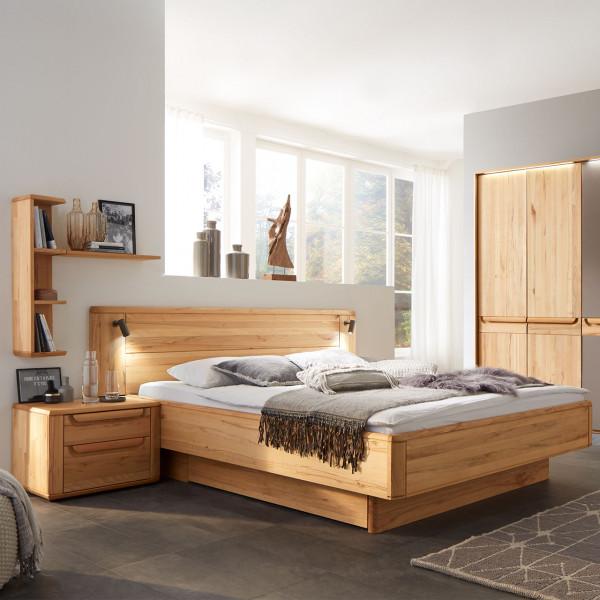 Wöstmann WSM 2300 Bett mit Holzkopfteil